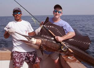 Guatemalan Sailfish on fly bu Jerry Coates