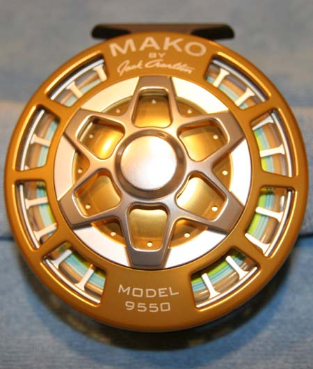 Mako #9550 Fly Reel Rear View
