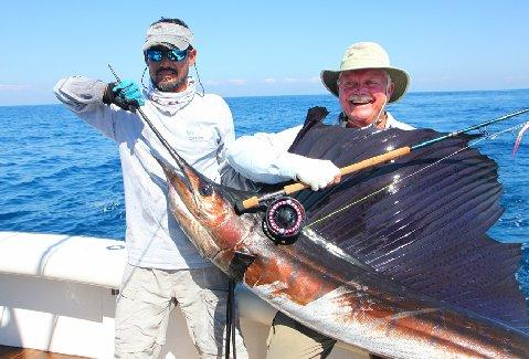 Brent Kitson Sailfish on Fly Finest Kind March 2014