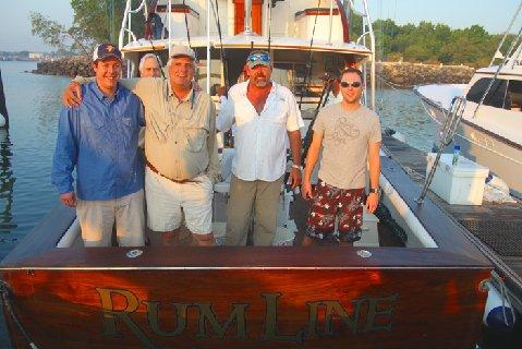 Sailfish School Rum Line Craig Machado with Sons Jason and Cliff