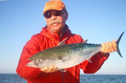 Chuck Furimsky False Albacore Oct 2012, CAptain Jake Jordan Vessel Fly Reel