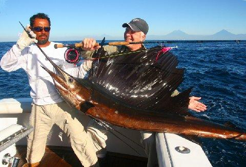 Sailfish School, Casa Vieja Lodge, Intensity, Captain Mike Sheeder, Jan 15, 2011
