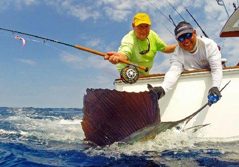 Instruction Sailfish on Fly The Sailfish School Jake Jordan Instructor Angler
