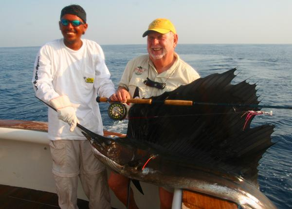 Guatemala Sailfish on Fly