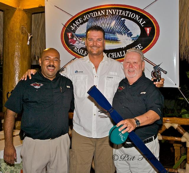 Jake Jordan Invitational Sailfish Fly Challenge, first place captain, Brad Philipps, Decisive