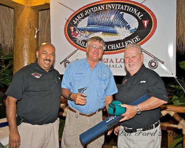 Jake Jordan Invitational Sailfish Fly Challenge, Second place captain, Chip Shafer, Old Reliable