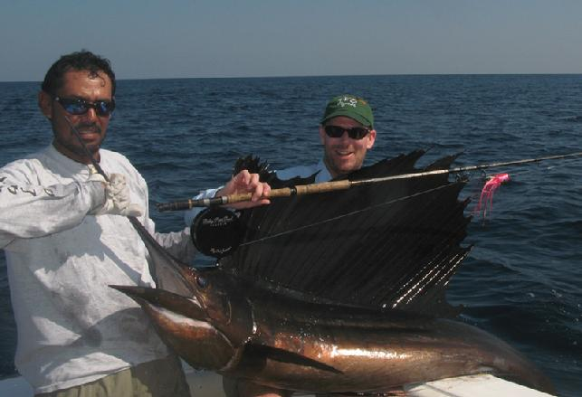 Sailfish Release at Jake Jordan's Sailfish School, Intensity, CVL, Guatemala, January 2011