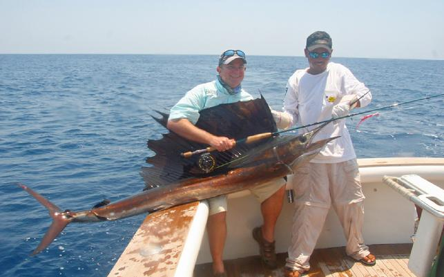 GAry Jennings at The Sailfish School, Casa Vieja Lodge Guatemala