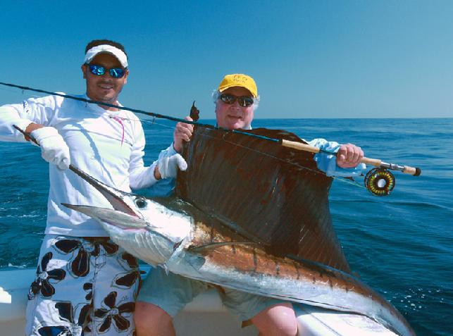 Sailfish on Fly, TFO BW HD Fly Rod, Guatemala