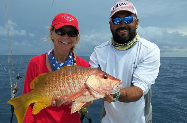 Wanda's Independence Day Snapper, Los Suenos Resort, Costa Rica