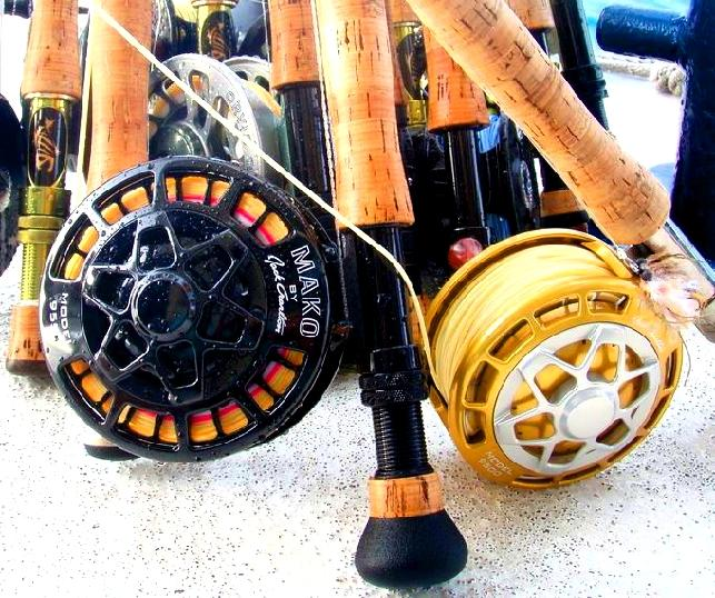 Mako Fly Reels By Jack Charlton,  Available at Jakejordan.com